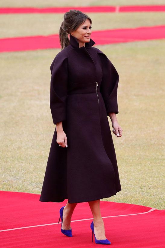 Melania Página Trump Primera Dama First Lady Cotilleando O 530 ZzqTwSvPZ