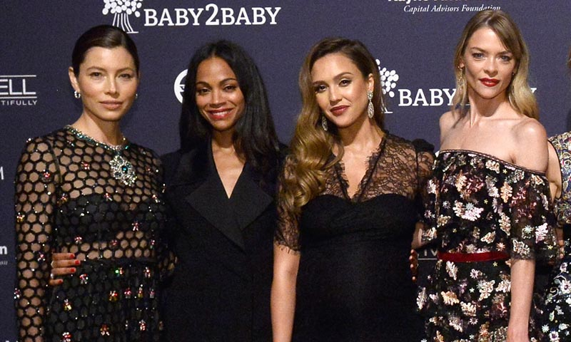 Jessica Alba, Gwyneth Paltrow... Las mamás de Hollywood se van de fiesta