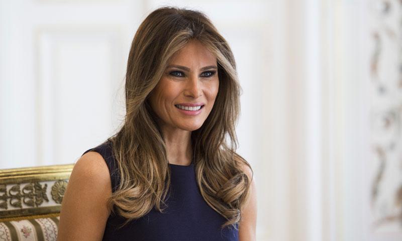 ¿Volverá Melania Trump a vestir de Delpozo?