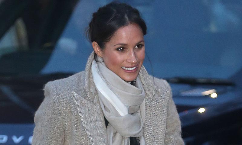 Meghan Markle o cómo pasar de actriz a 'royal' con el mismo abrigo