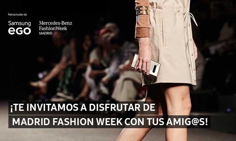 Samsung te invita a disfrutar de un inolvidable fin de semana en 'Madrid Fashion Week'
