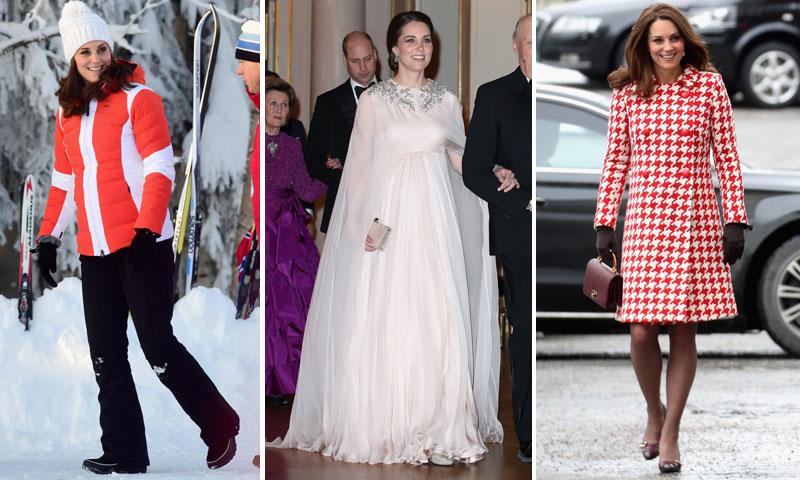 El estilo nórdico de la Duquesa de Cambridge: una premamá 'royal' en Suecia y Noruega