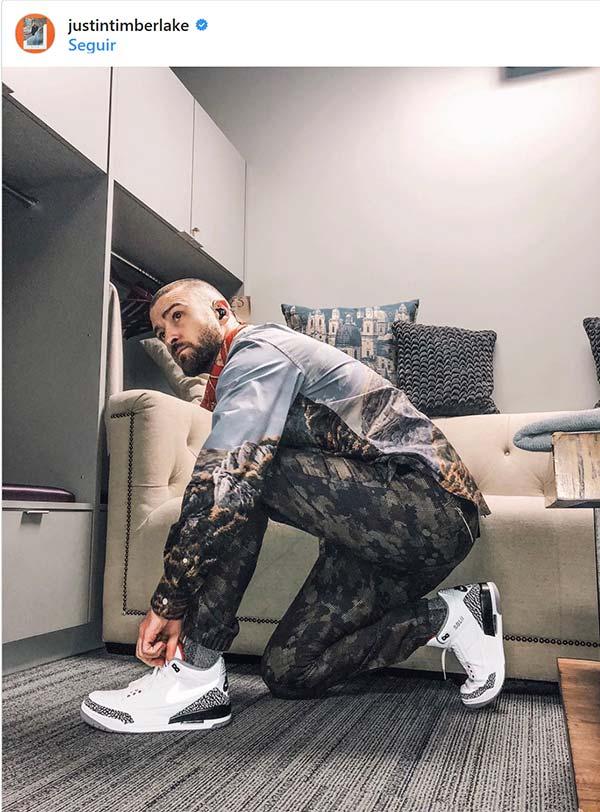 3e4bb08e123b1 Super Bowl 2018  El look de Justin Timberlake