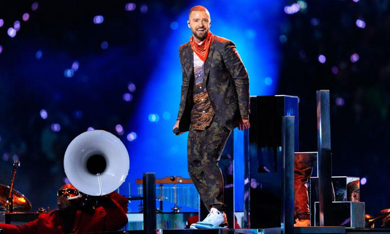 77dc582adb6a0 Super Bowl 2018  El look de Justin Timberlake