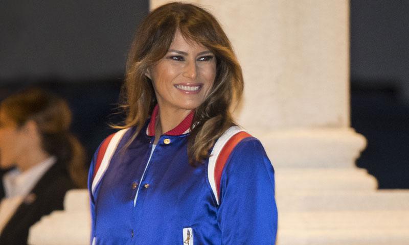 Melania Trump invierte más de 2.300 € en ropa para ver la Super Bowl