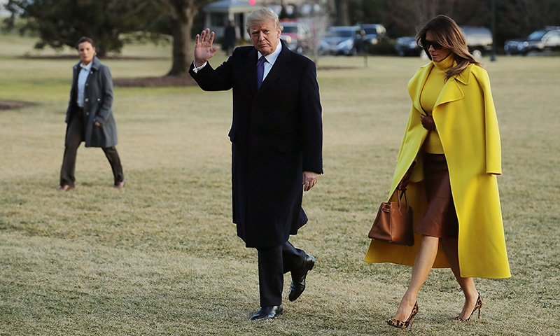 Después de la polémica, Melania Trump también recicla