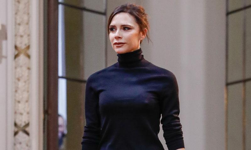 Un desfile inolvidable: ¿A qué se debe la sonrisa de Victoria Beckham?