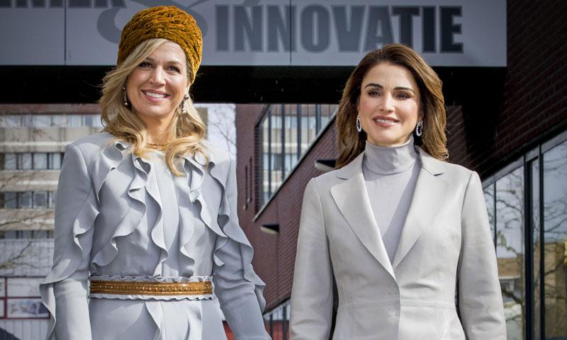 Rania de Jordania y Máxima de Holanda, el duelo de estilo más esperado