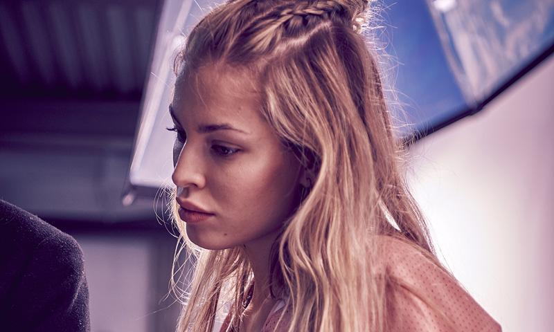 Jessica Goicoechea, la modelo que crea looks poderosos sin tacones
