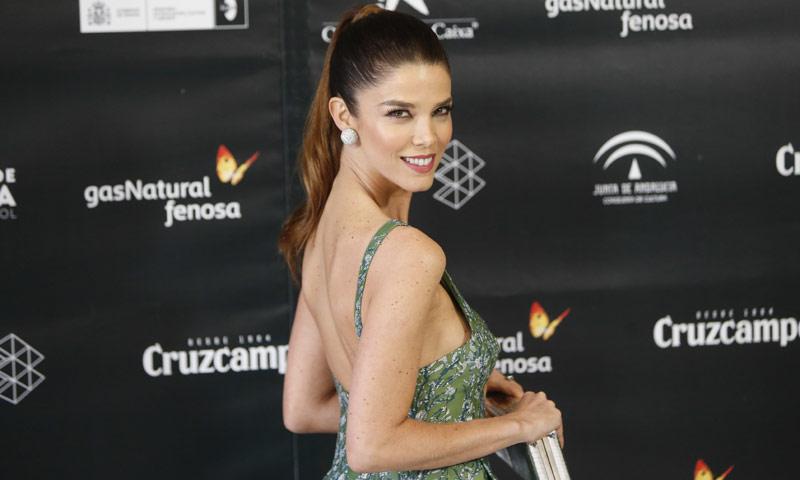 Juana Acosta, tras los pasos de Victoria de Suecia en el Festival de Cine de Málaga