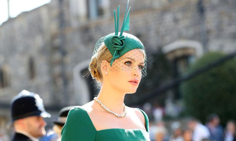 Lady Kitty Spencer, la invitada más elegante de la boda real según los lectores de HOLA.com