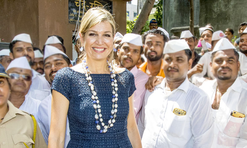 Los guiños étnicos de Máxima de Holanda: todos sus looks en el viaje a la India