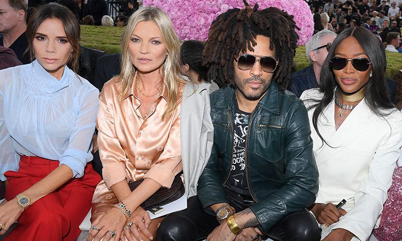 ¿Qué hacían juntas en París Victoria Beckham, Naomi Campbell y Kate Moss?