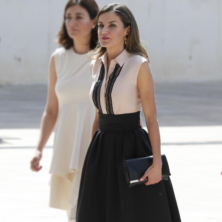 Doña Para En Resistir Los Su Verano Letizia Truco Tacones Recupera KJTcFl1