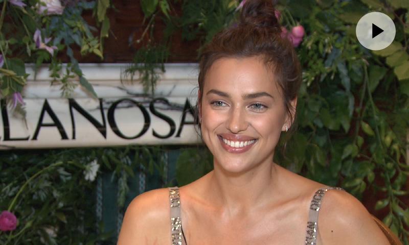 Irina Shayk en exclusiva para ¡HOLA!: 'No soy perfecta, soy una persona normal'