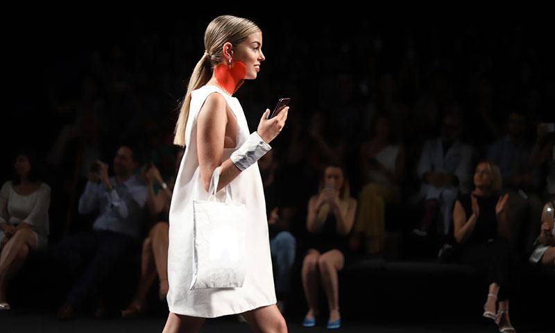 Nerea de OT desfila, por primera vez, en Fashion Week Madrid