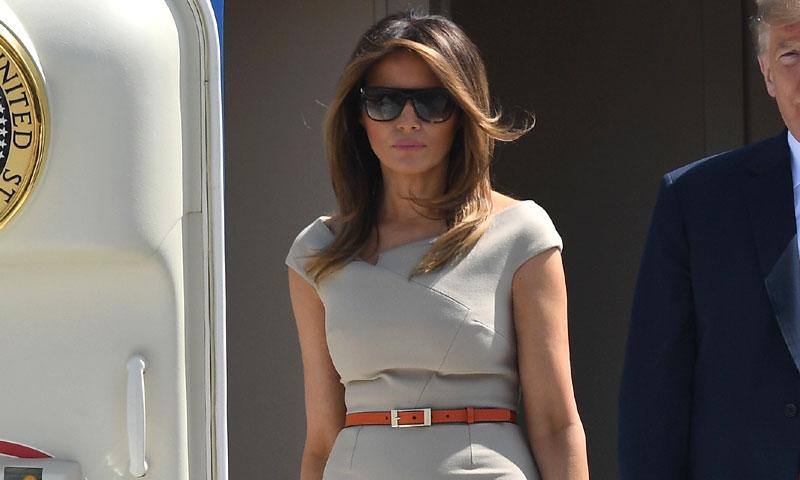 ¿Un vestido de Kim Kardashian y Blake Lively en el vestidor de Melania Trump?