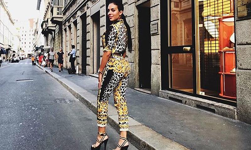 El vestidor 'made in Italia' de Georgina Rodríguez en su nueva vida en Turín