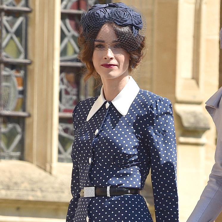 dbb0a15d8 Zara versiona el vestido de invitada más buscado de la boda de Meghan y  Harry