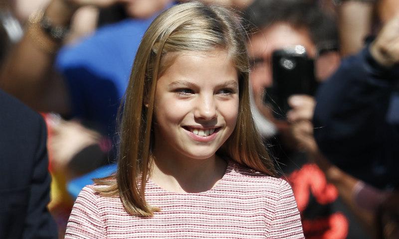 El vestido que la infanta Sofía ha combinado con su hermana y su madre