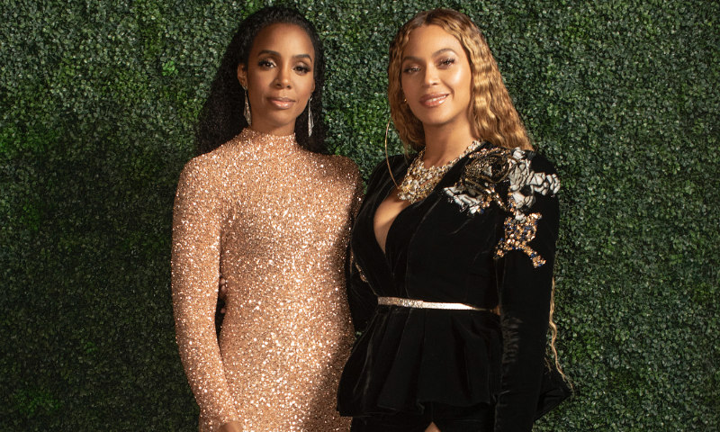 Trece años después de Destiny's Child, Beyoncé y Kelly Rowland siguen compartiendo estilo