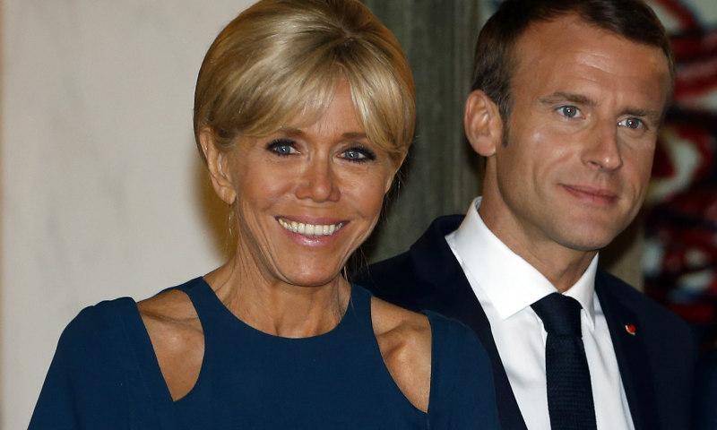¿Ha influido Doña Letizia en el último look de Brigitte Macron?