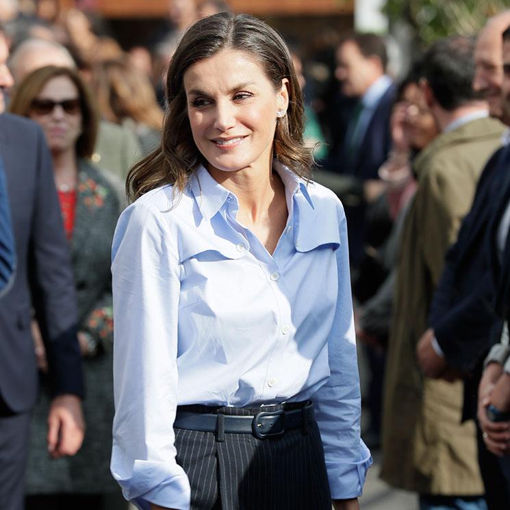 53025815d19639 Doña Letizia convence con su look de inspiración masculina