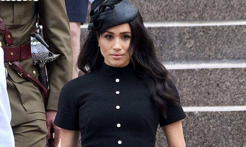 El día que Meghan Markle llevó el mismo vestido que una ex del príncipe Harry