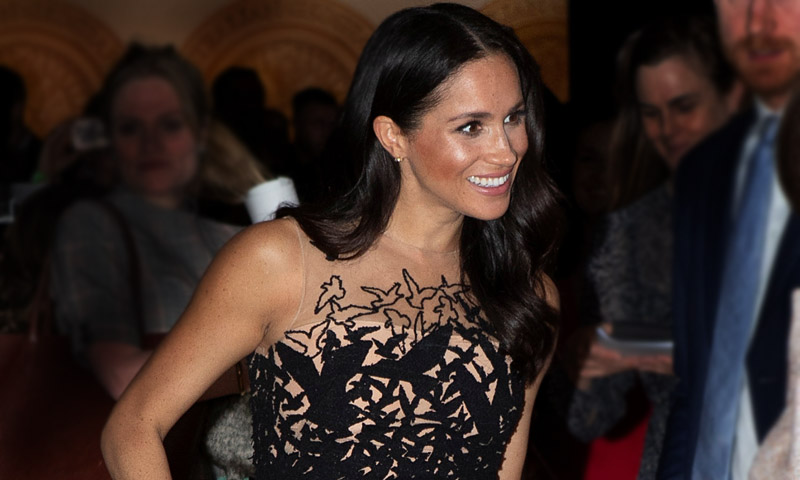 El fabuloso vestido de gala con el que Meghan Markle se salta sus propias reglas