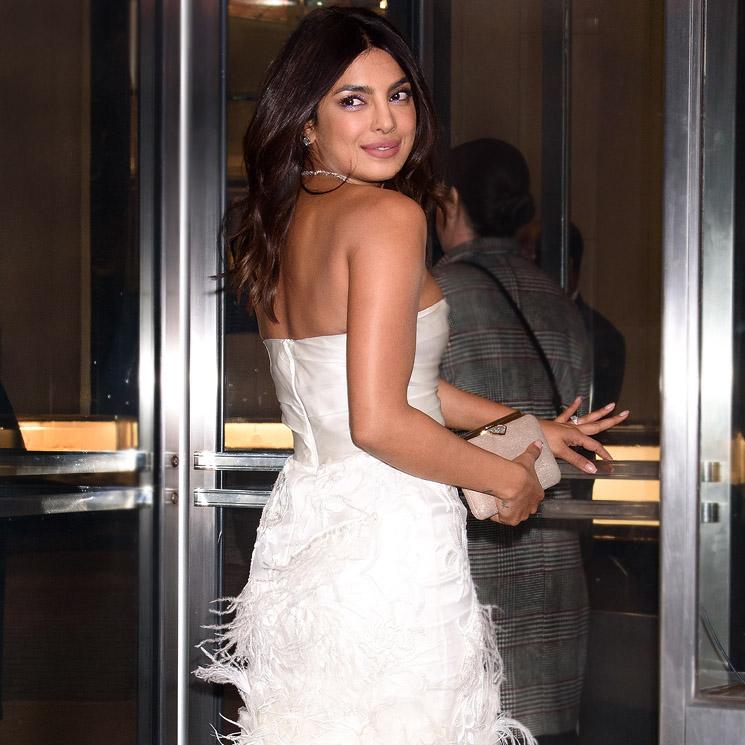 cfd4c504b Priyanka Chopra luce su primer vestido de novia antes de su boda con ...