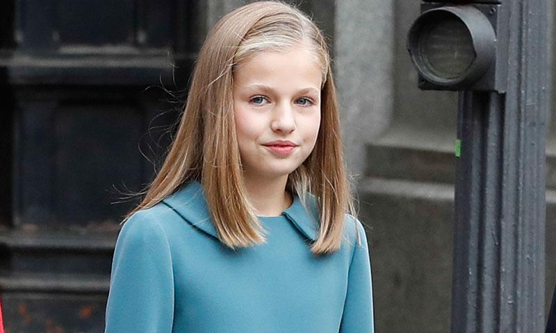 Un detalle en el vestido de la princesa Leonor podría revelar quién es su 'royal' favorita