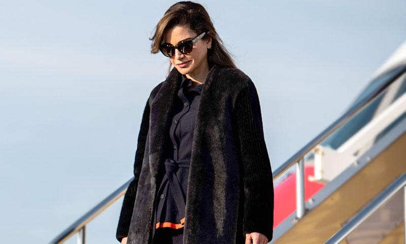 La simbólica conexión entre los vestidores de Rania de Jordania y Victoria Beckham