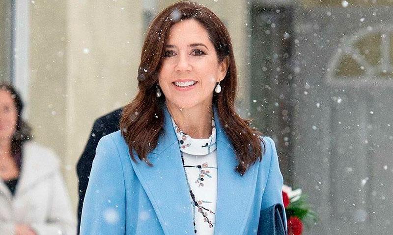 Las redes convierten a Mary de Dinamarca en una princesa Disney