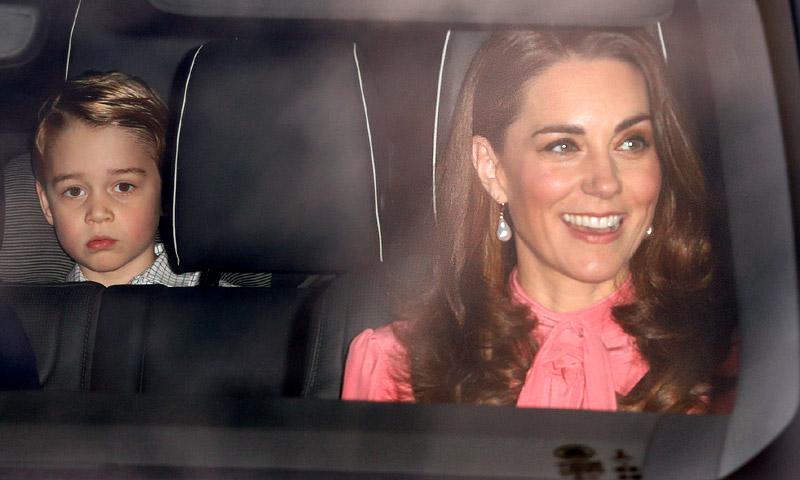 El recuerdo de la Duquesa de Cambridge a Diana en la primera cita navideña de Buckingham