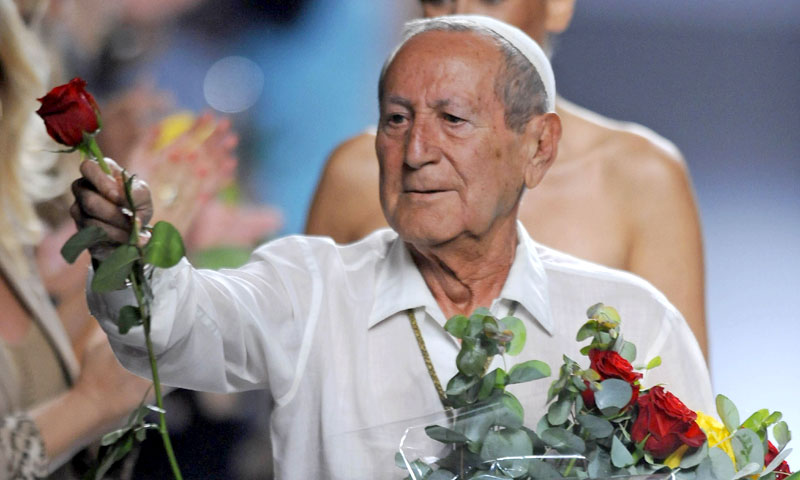 La moda, la política y la sociedad española lloran la muerte de Elio Berhanyer