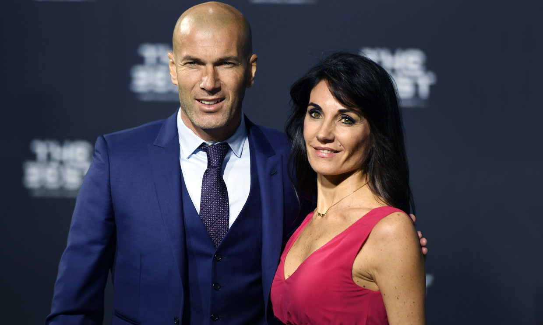 Así es el estilo Véronique, la incondicional compañera de éxitos de Zidane