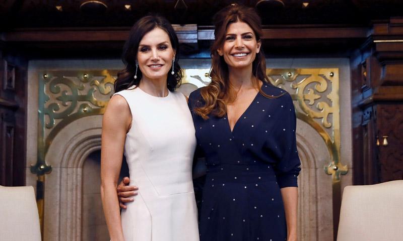 ¡Por fin! Doña Letizia y Juliana Awada protagonizan su esperado duelo de estilo