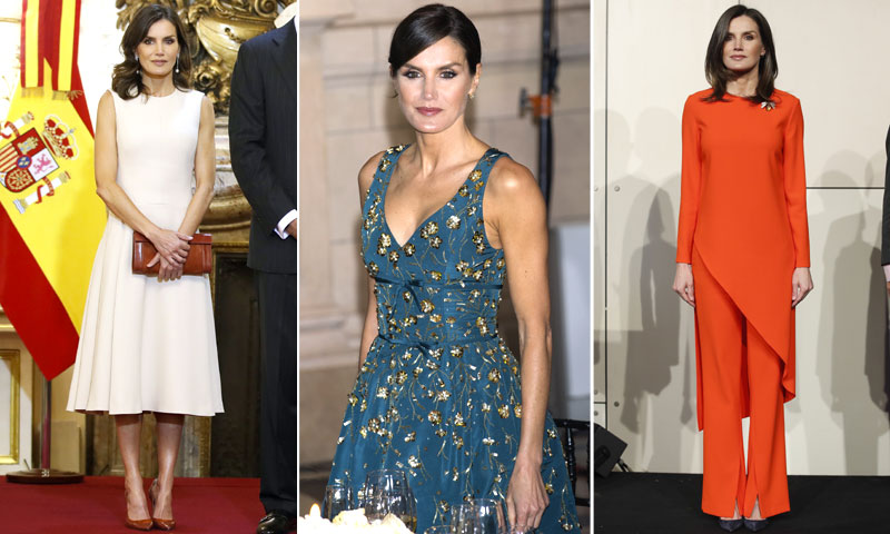 Votación: ¿Cuál ha sido el mejor look de la Reina en Argentina?