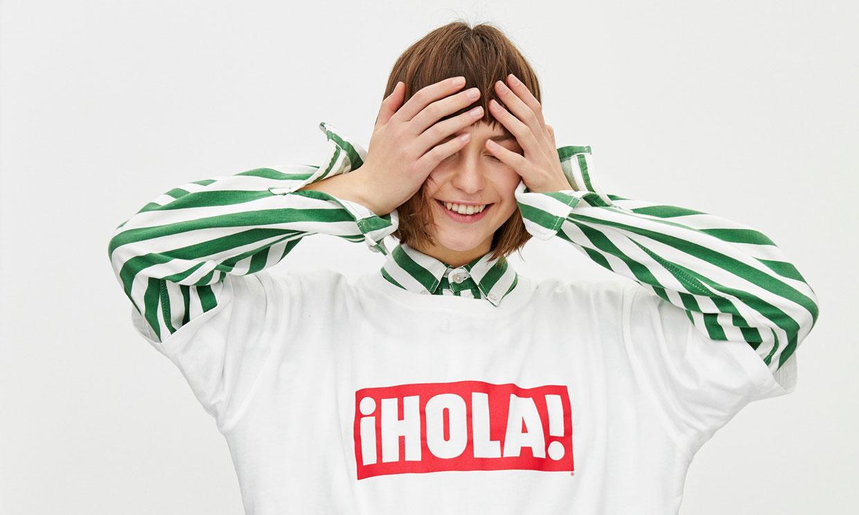 ¡HOLA! está más de moda que nunca y la nueva camiseta de Pull&Bear lo confirma