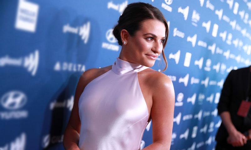 La conexión de Lea Michele con el vestido de novia de Meghan Markle