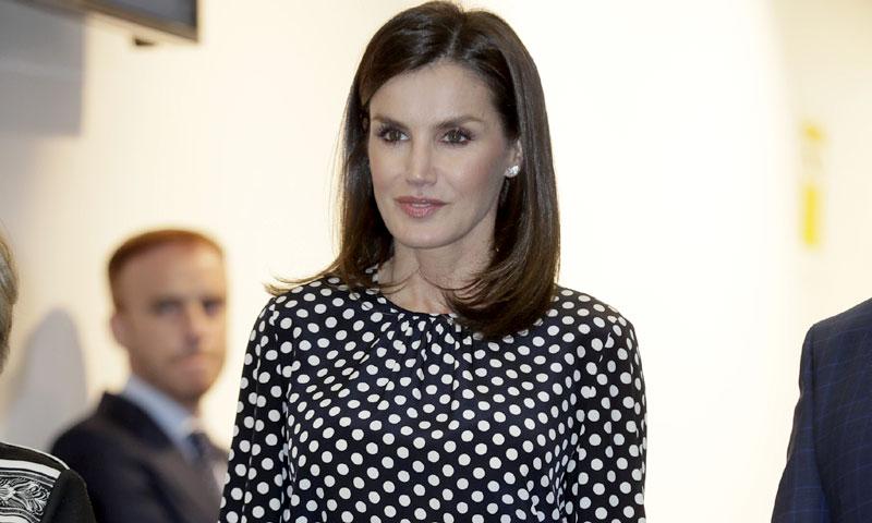 La Reina recupera el look de su desencuentro con doña Sofía justo un año después