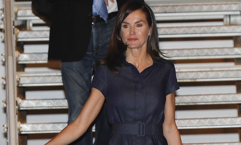 El nuevo vestido de la Reina en recuerdo a aquella anecdótica conexión con Meghan