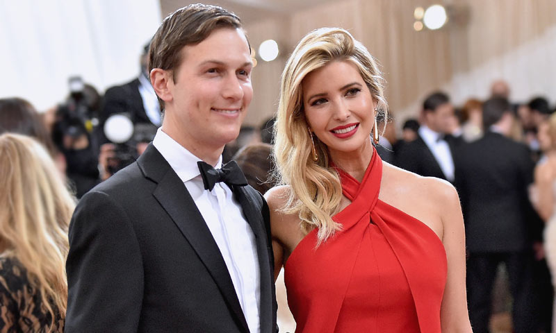 Ivanka Trump declara su amor a Jared Kushner con moda española y un vestido de 40 euros