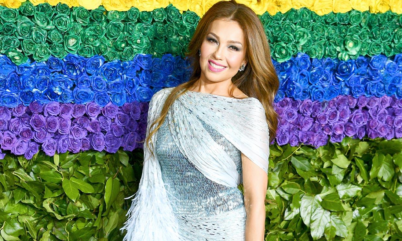 Thalia, Emily Ratajkowski y los looks ganadores de la alfombra roja de los Tony Awards
