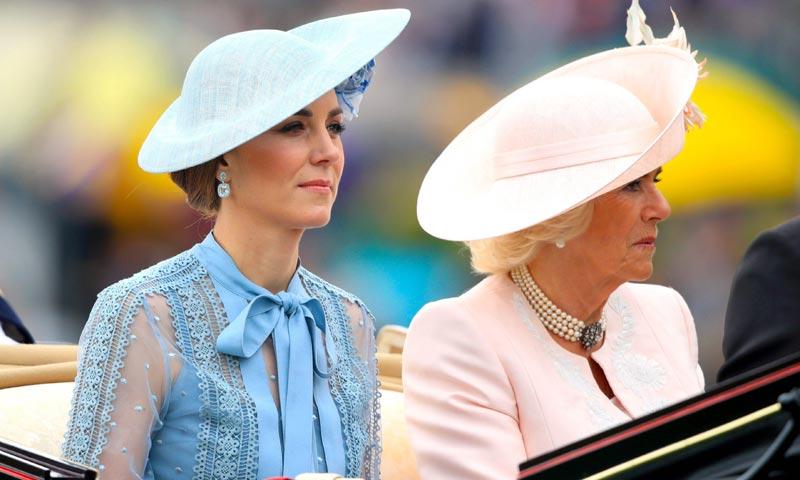 ¡Sorpresa en Royal Ascot! Kate innova con su look transparente