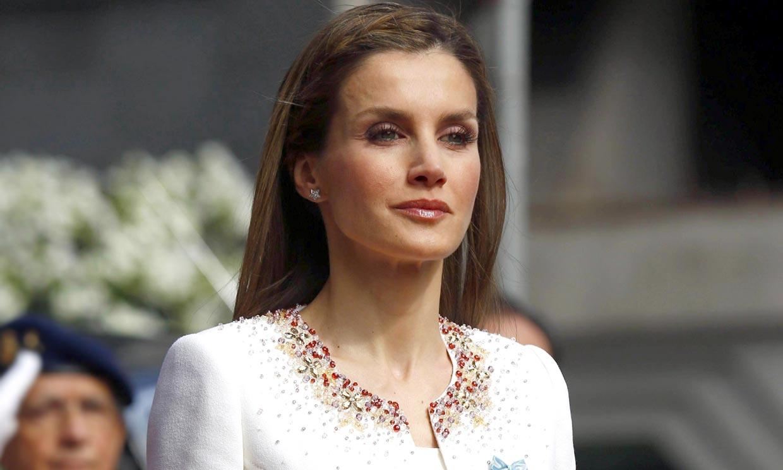 Una elección histórica: así fue el primer look de doña Letizia como reina de España