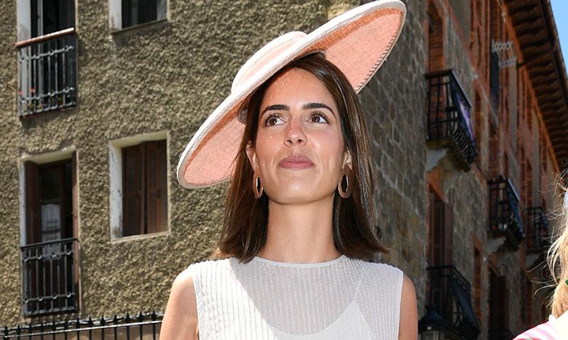 El impecable look de Sofía Palazuelo, pura inspiración en su primera boda de verano