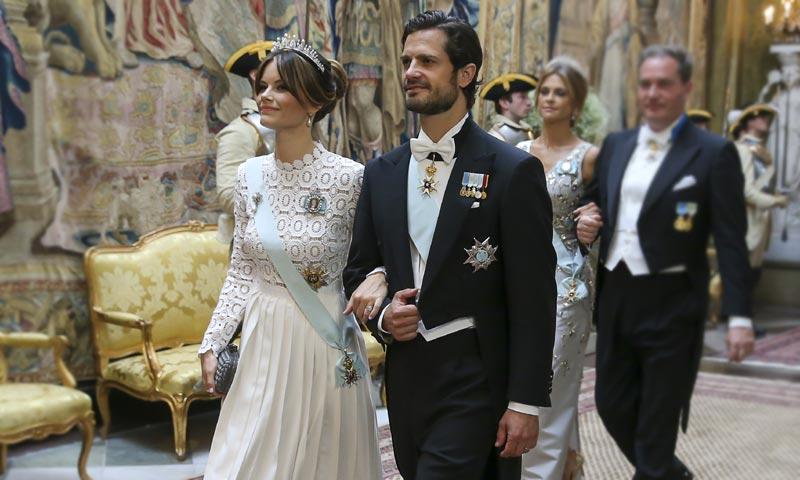 Sofia de Suecia y Kate Middleton o cuando las 'royals' usan el mismo vestido