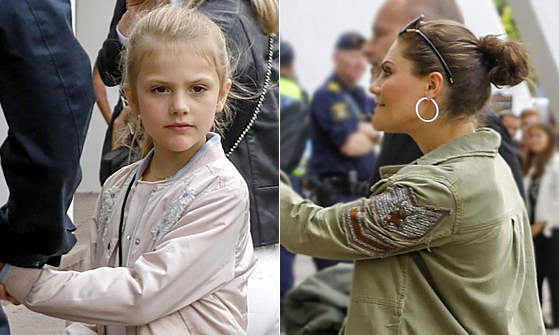 Victoria de Suecia y su hija Estelle, dos princesas roqueras con sus looks de concierto