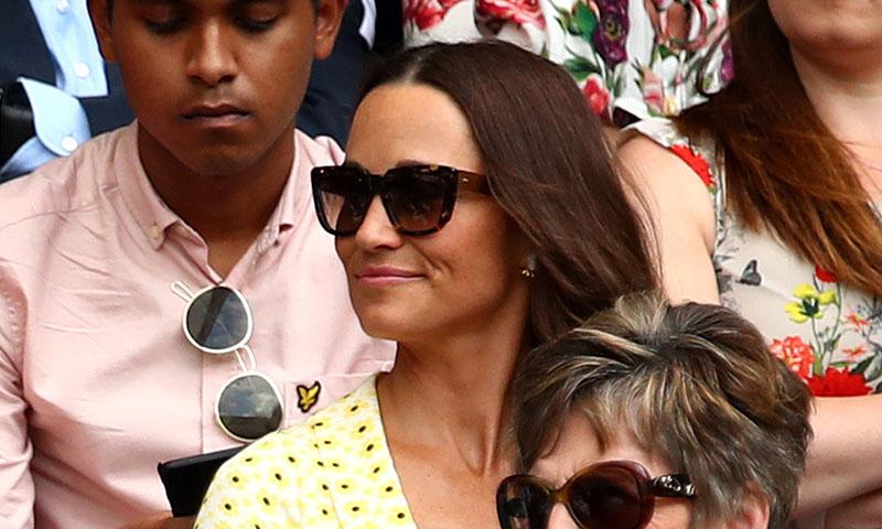 '¡Match point!' Pippa Middleton confirma en Wimbledon el poder de los vestidos de flores